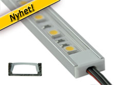 Aluminiumprofil för led-strip
