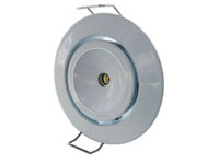 Vitmålad downlight justerbar 120°