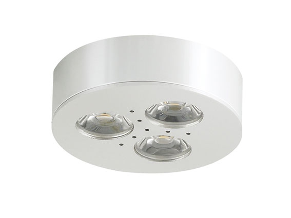 Downlight LED puck 3x1w, 45°, 180Lm