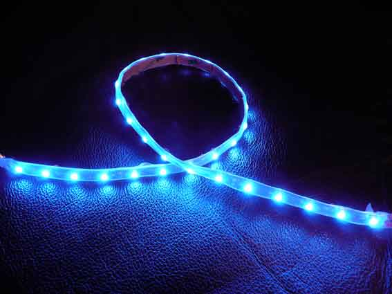 LED strip 104Lm/m, 300mm, Blå