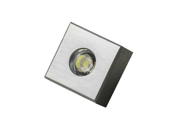 Downlight LED fyrkantig 1w, 60Lm
